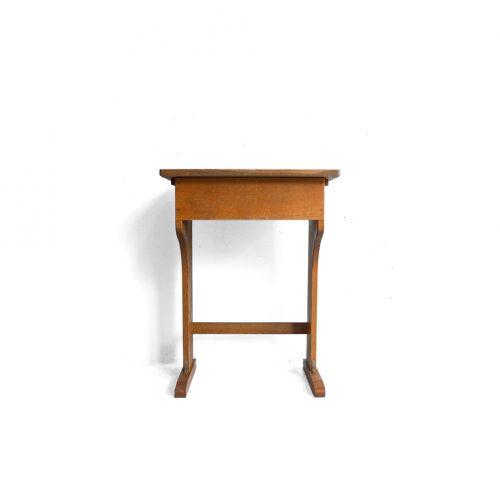 Vintage Wooden School Desk/ヴィンテージ スクールデスク 学校机 レトロ テーブル1