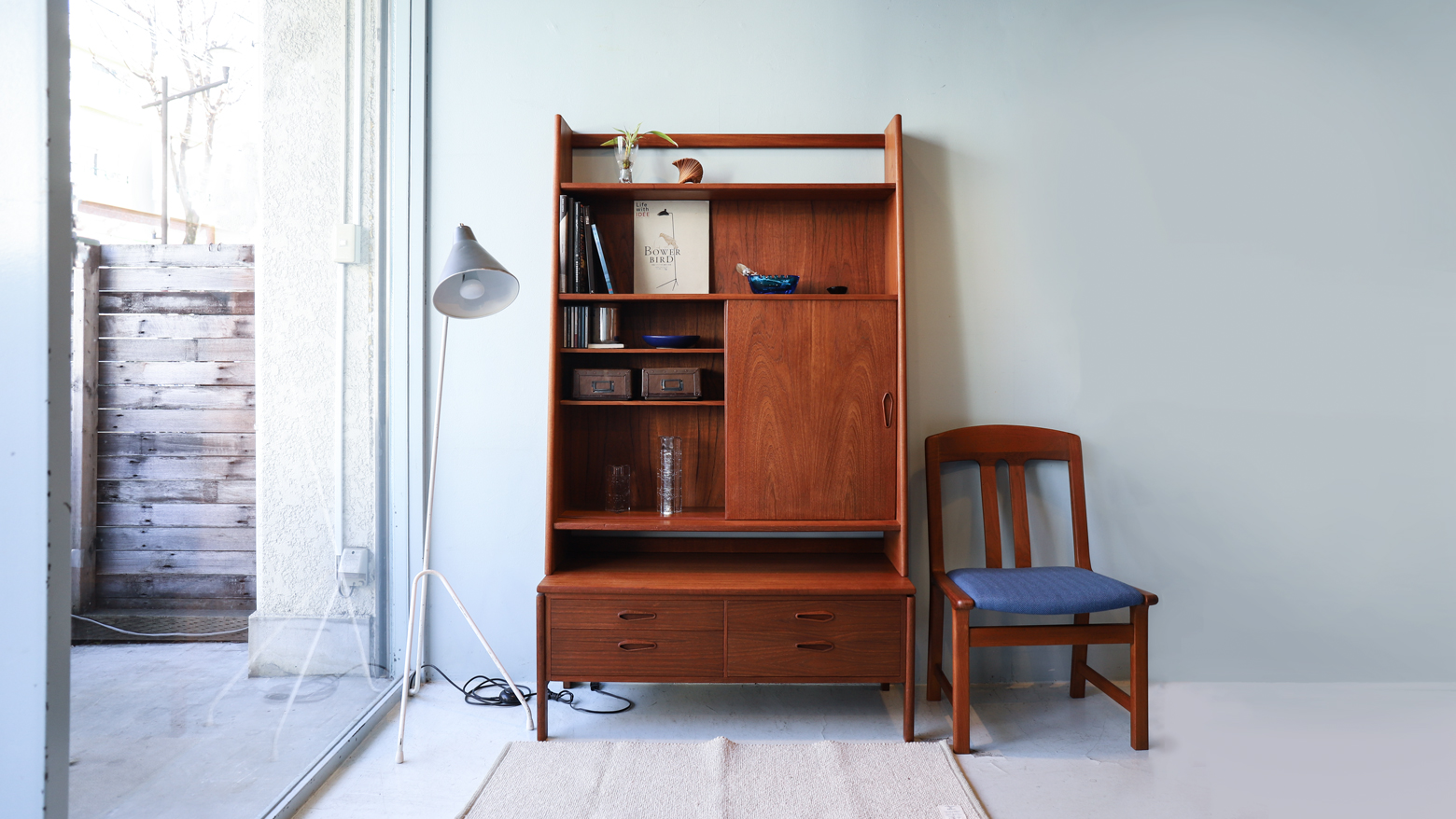 Danish Vintage High Shelf Arne Wahl Iversen