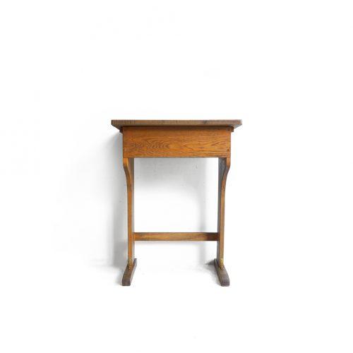 Vintage Wooden School Desk/ヴィンテージ スクールデスク 学校机 レトロ テーブル3