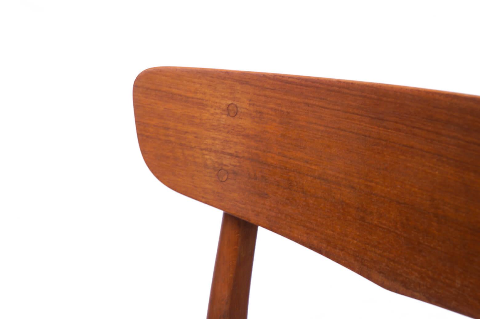 Danish Farstrup Møbelfabrik Dining chair/デンマーク ヴィンテージ ダイニングチェア ブルー 2