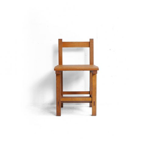 Vintage Wooden School Chair/ヴィンテージ スクールチェア 学校椅子 レトロ 3