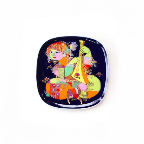 "Rosenthal studio-linie ""Aladdin und die Wunderlampe"" Wall Plate Bjorn Wiinblad/ローゼンタール スタジオライン ""千夜一夜物語"" ウォールプレート ビョルン・ヴィンブラッド 絵皿 インテリア"