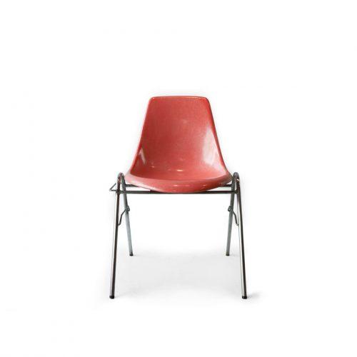 柳宗理 スタッキングチェア コトブキ製 FRP モダンデザイン/SORI YANAGI Modern Design Stacking Shell Chair