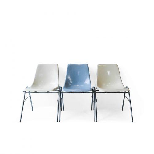 KOTOBUKI Stacking Chair FRP/コトブキ スタッキングチェア レトロ ヴィンテージ