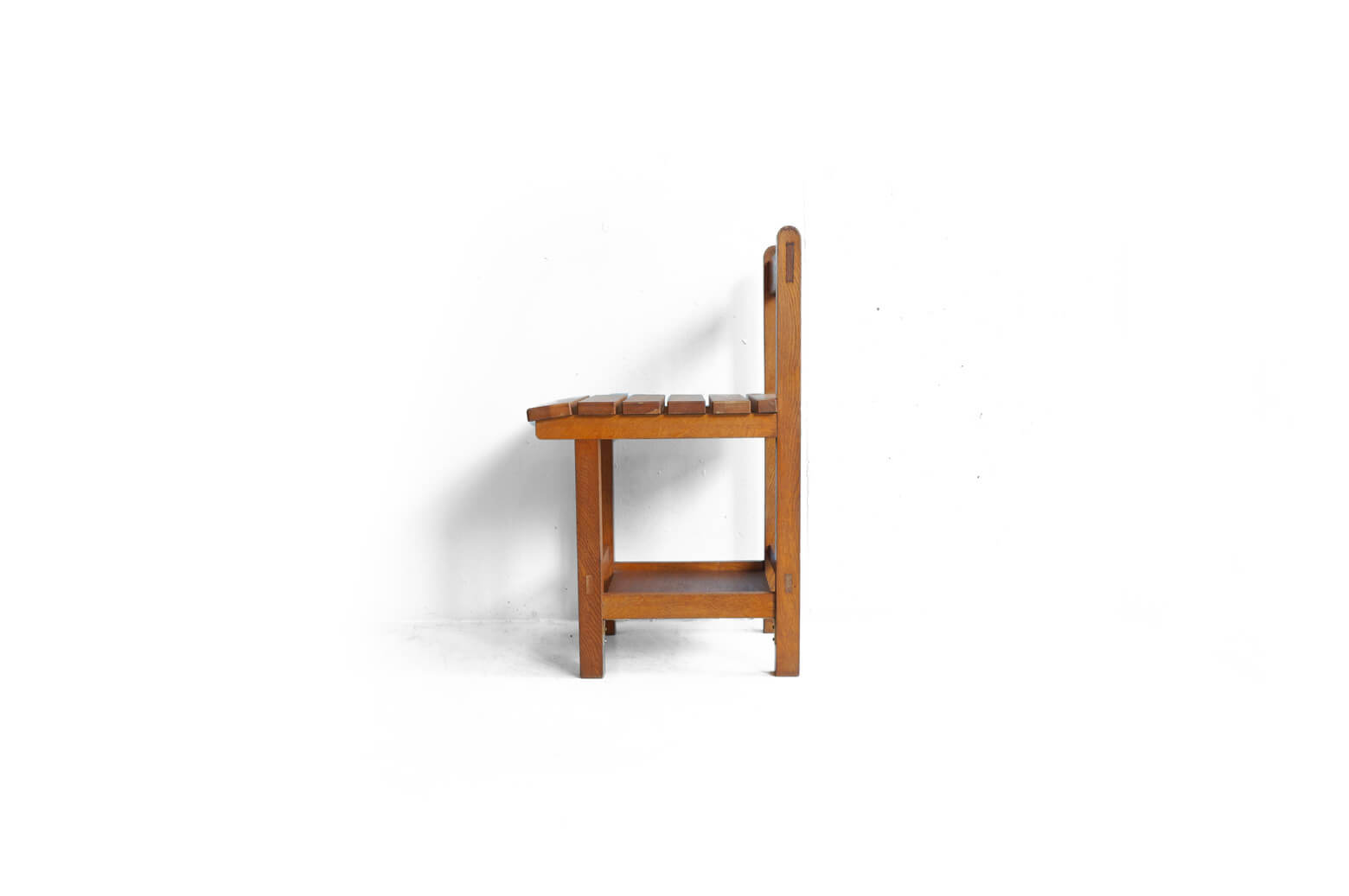 Vintage Wooden School Chair/ヴィンテージ スクールチェア 学校椅子 レトロ 2