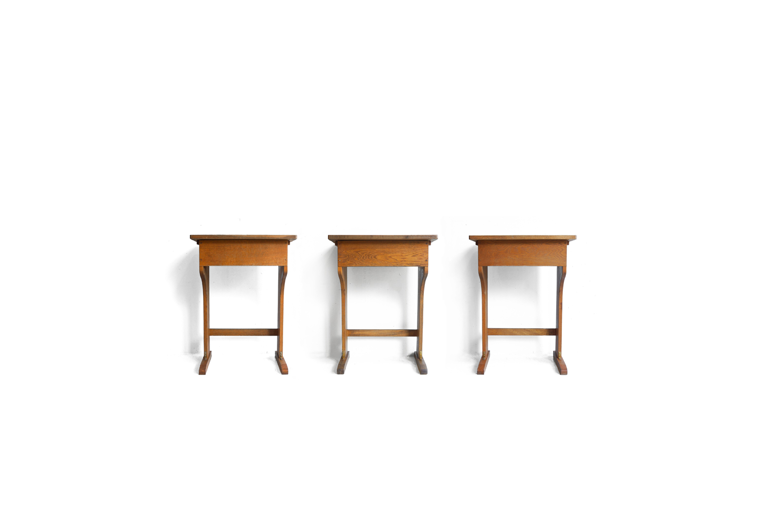 Vintage Wooden School Desk/ヴィンテージ スクールデスク 学校机 レトロ テーブル