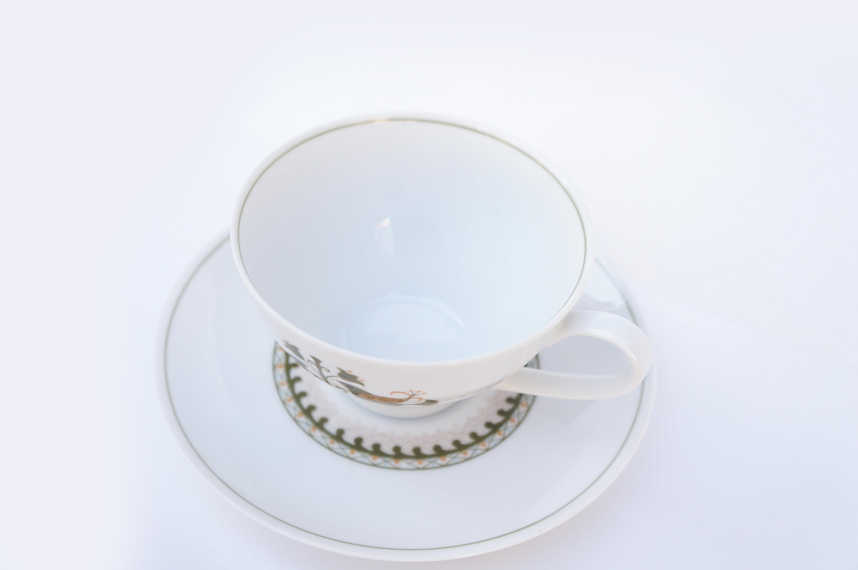 Vintage Noritake Cup and Saucer Hermitage U.S. Pattern Tableware/ノリタケ カップ アンド ソーサー エルミタージュ テーブルウェア レトロ ヴィンテージ食器 1