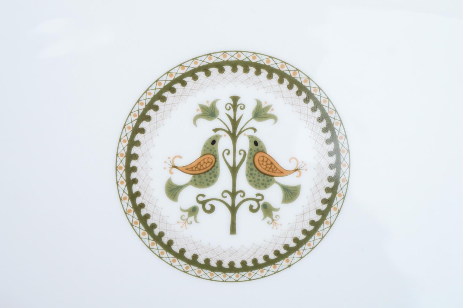 Vintage Noritake Oval Plate Hermitage U.S. Pattern Tableware/ノリタケ オーバル プレート エルミタージュ テーブルウェア レトロ ヴィンテージ食器 Lサイズ