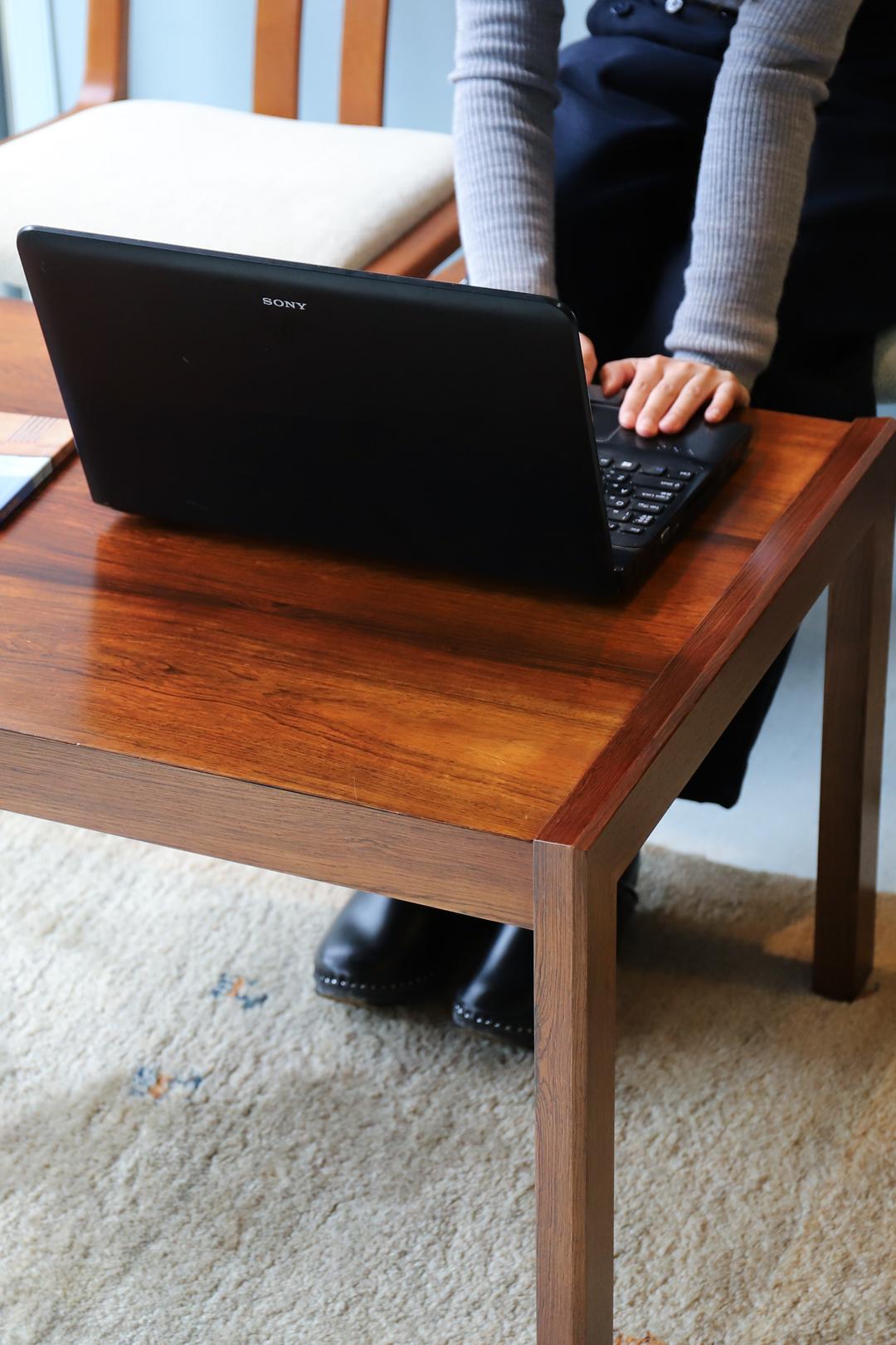 Japan Vintage Rosewood Center Table/ジャパンヴィンテージ ローズウッド センターテーブル ローテーブル モダンデザイン