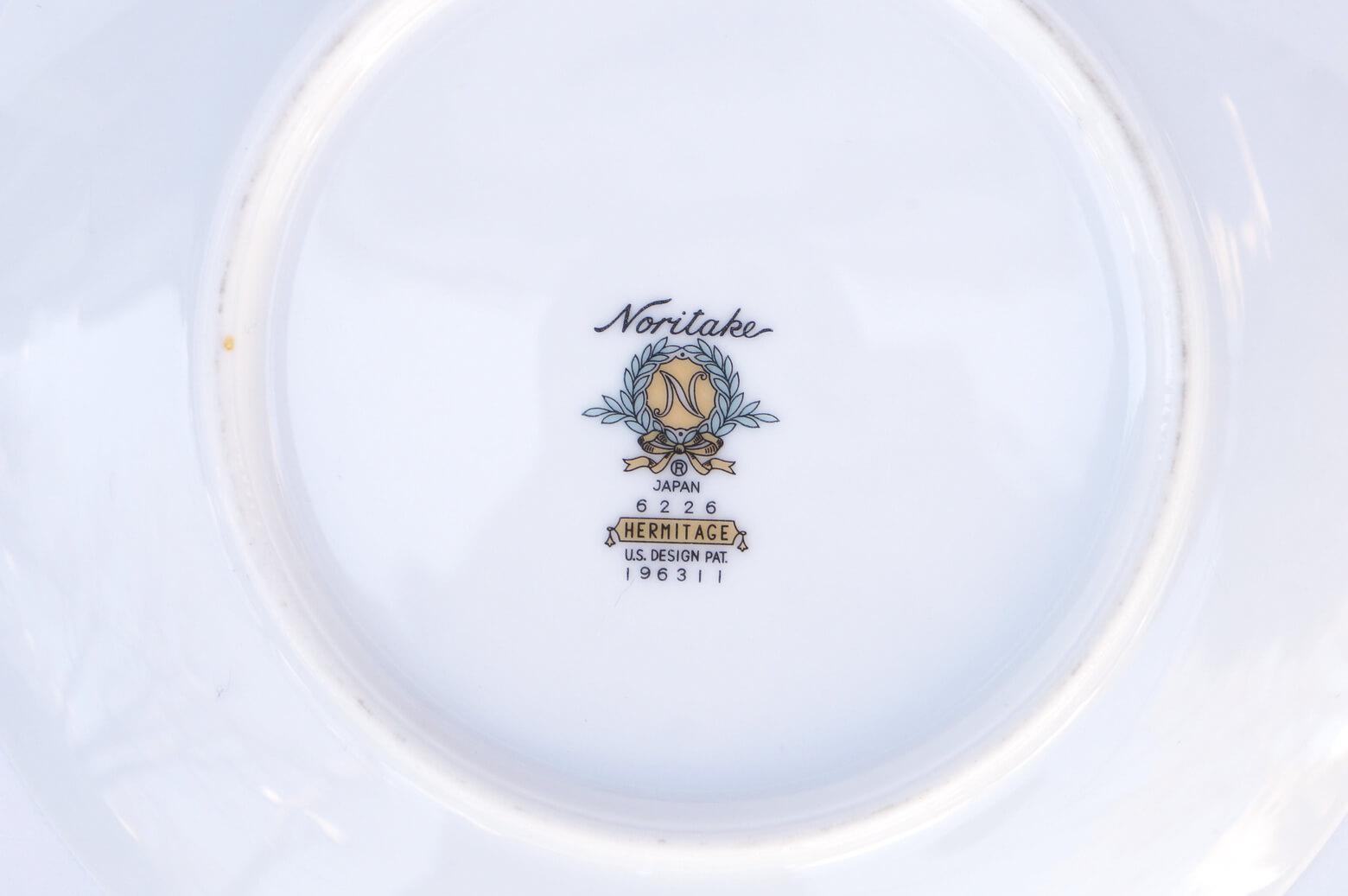 Vintage Noritake Cake Plate Hermitage U.S. Pattern Tableware/ノリタケ ケーキ プレート エルミタージュ テーブルウェア レトロ ヴィンテージ食器 1