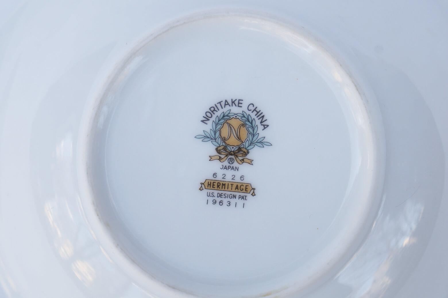 Vintage Noritake Oval Plate Hermitage U.S. Pattern Tableware/ノリタケ オーバル プレート エルミタージュ テーブルウェア レトロ ヴィンテージ食器 Mサイズ