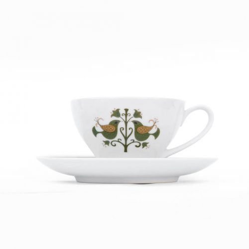 Vintage Noritake Cup and Saucer Hermitage U.S. Pattern Tableware/ノリタケ カップ アンド ソーサー エルミタージュ テーブルウェア レトロ ヴィンテージ食器 2