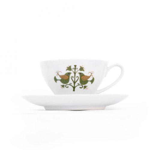 Vintage Noritake Cup and Saucer Hermitage U.S. Pattern Tableware/ノリタケ カップ アンド ソーサー エルミタージュ テーブルウェア レトロ ヴィンテージ食器 4