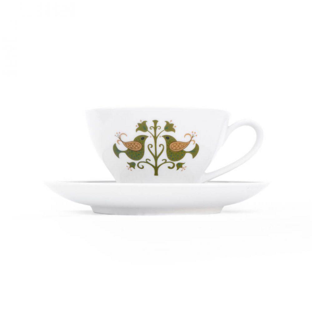 Vintage Noritake Cup and Saucer Hermitage U.S. Pattern Tableware/ノリタケ カップ アンド ソーサー エルミタージュ テーブルウェア レトロ ヴィンテージ食器 5