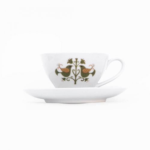 Vintage Noritake Cup and Saucer Hermitage U.S. Pattern Tableware/ノリタケ カップ アンド ソーサー エルミタージュ テーブルウェア レトロ ヴィンテージ食器 6