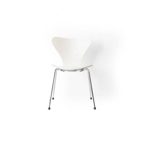 Fritz Hansen Series 7 Chair Arne Jacobsen/フリッツハンセン セブンチェア ホワイト アルネ・ヤコブセン 北欧ヴィンテージ 椅子 3
