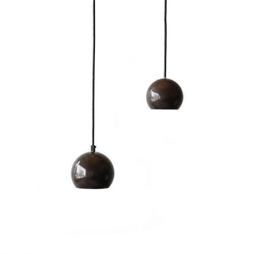 デンマーク ヴィンテージ ボール ペンダントライト 照明 ランプ ミッドセンチュリー 北欧インテリア/Danish Vintage E.S. Horn Ball Pendant Light