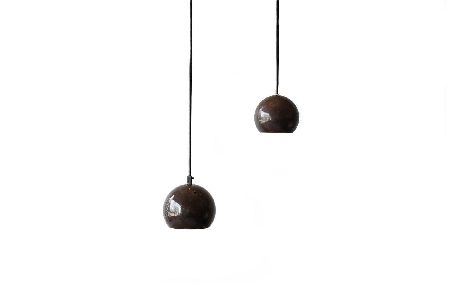 Danish Vintage E.S. Horn Ball Pendant Light/デンマーク ヴィンテージ ボール ペンダントライト 照明 ランプ ミッドセンチュリー 北欧インテリア