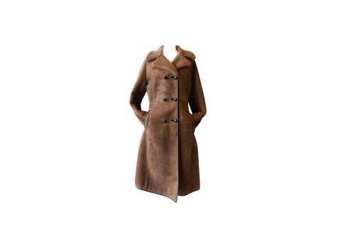 K&M Exclusive Mouton Coat Made in England/ムートンコート イギリス製 レディース ジャケット 古着 ファッション