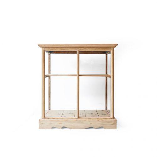 Vintage Glass Showcase Cabinet/ヴィンテージ ガラス ショーケース キャビネット ディスプレイ 古道具 アンティーク