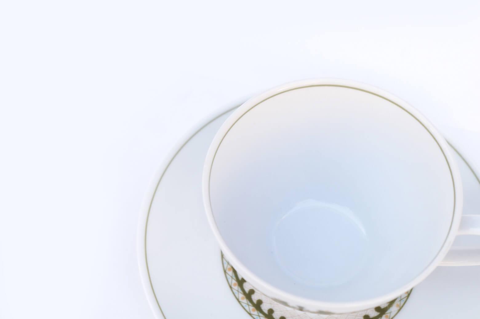 Vintage Noritake Cup and Saucer Hermitage U.S. Pattern Tableware/ノリタケ カップ アンド ソーサー エルミタージュ テーブルウェア レトロ ヴィンテージ食器 7