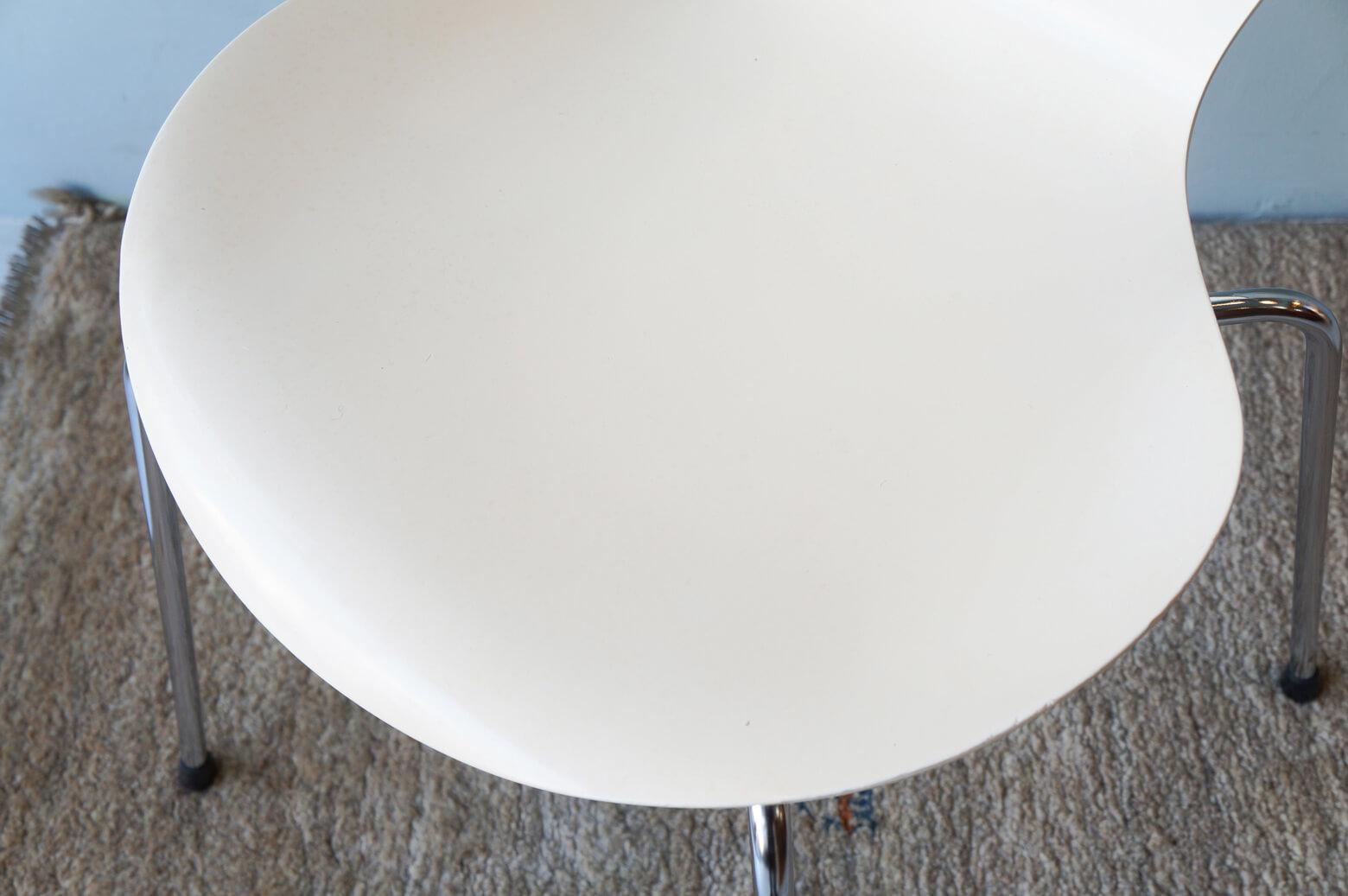 Fritz Hansen Series 7 Chair Arne Jacobsen/フリッツハンセン セブンチェア ホワイト アルネ・ヤコブセン 北欧ヴィンテージ 椅子 1