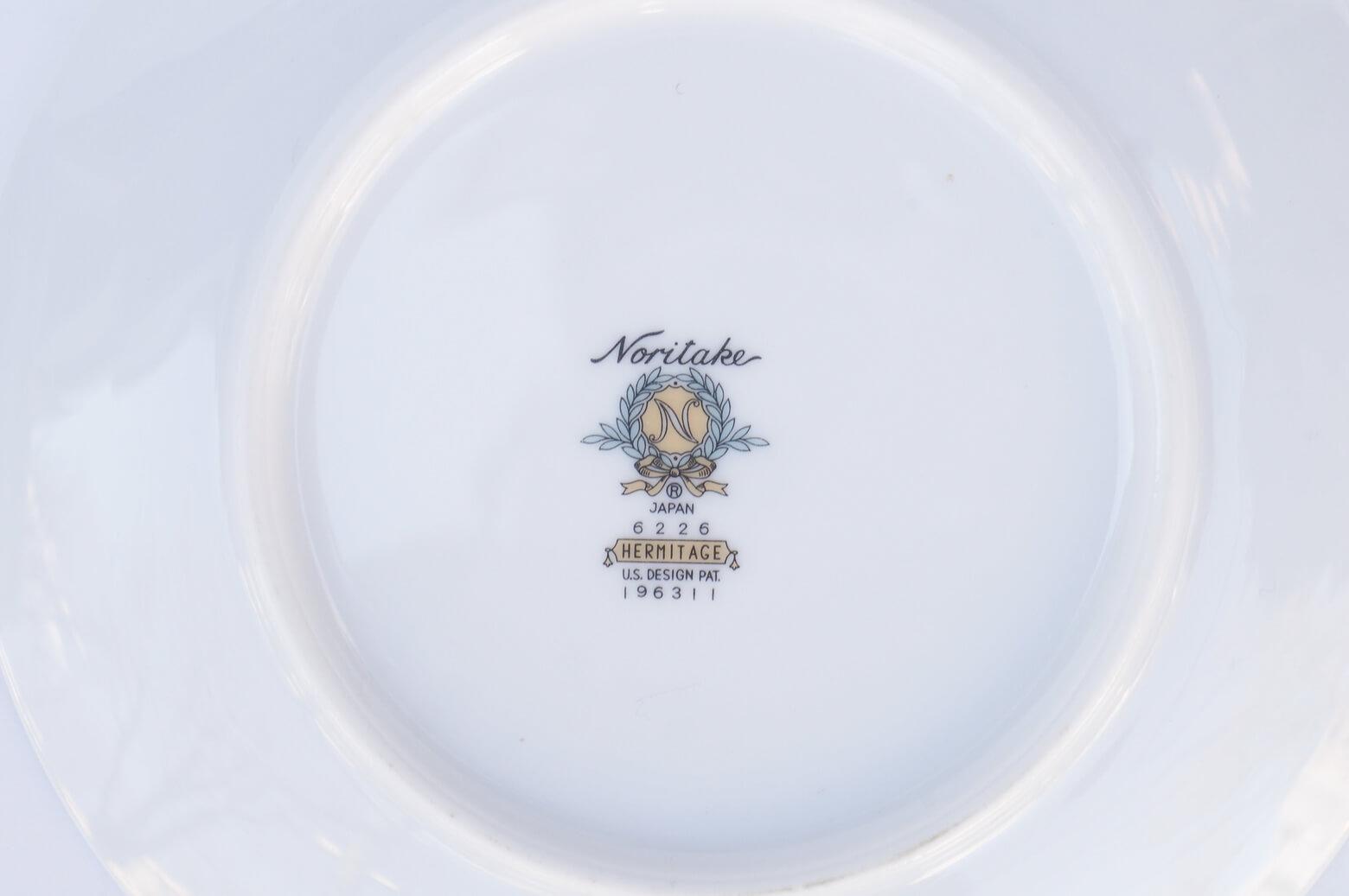 Vintage Noritake Cake Plate Hermitage U.S. Pattern Tableware/ノリタケ ケーキ プレート エルミタージュ テーブルウェア レトロ ヴィンテージ食器 5