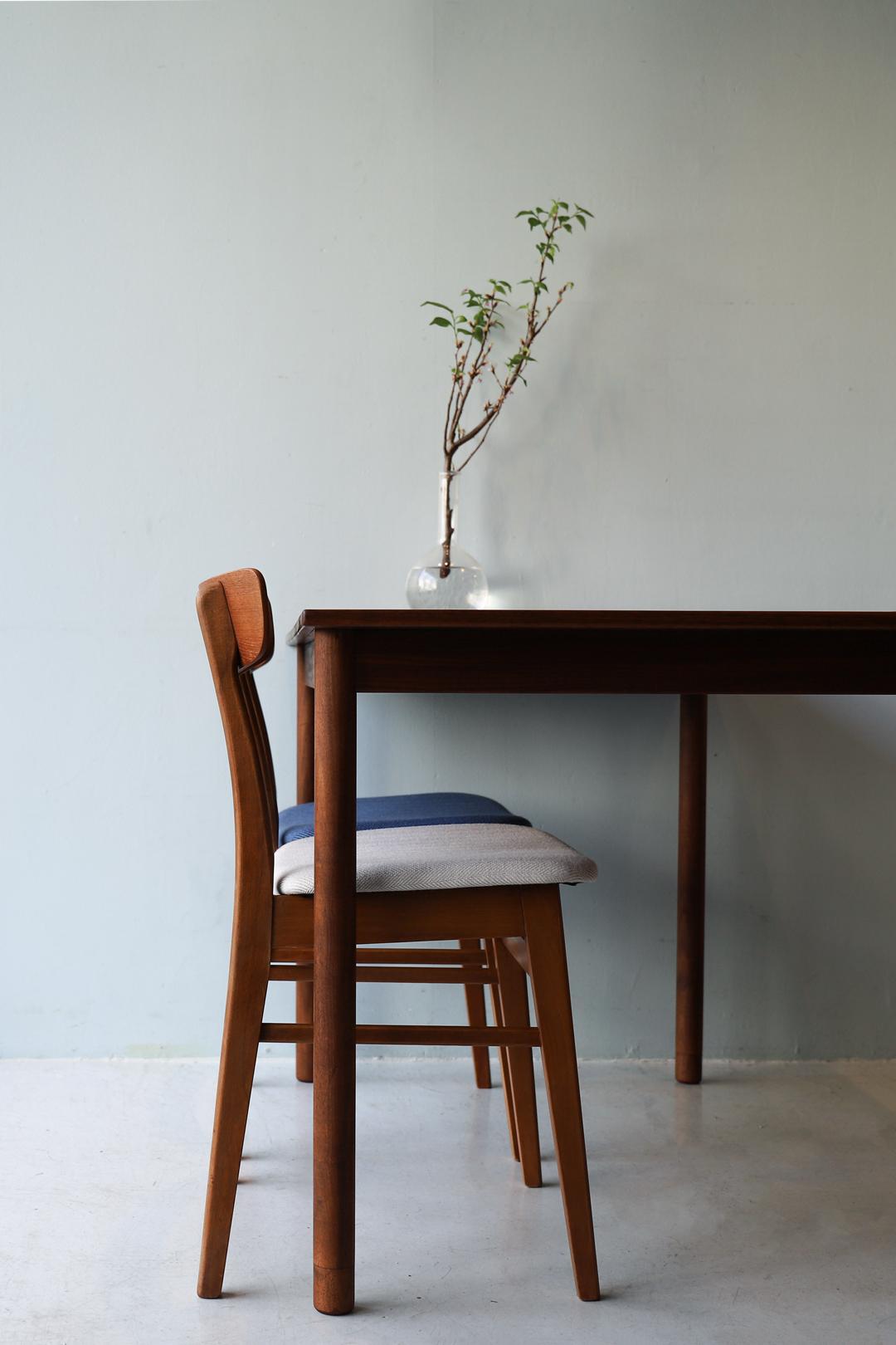 Danish Vintage Teakwood Living Dining Table/デンマーク ヴィンテージ リビング ダイニング テーブル チーク材 北欧家具