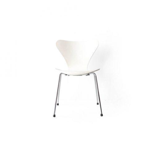 Fritz Hansen Series 7 Chair Arne Jacobsen/フリッツハンセン セブンチェア ホワイト アルネ・ヤコブセン 北欧ヴィンテージ 椅子 4
