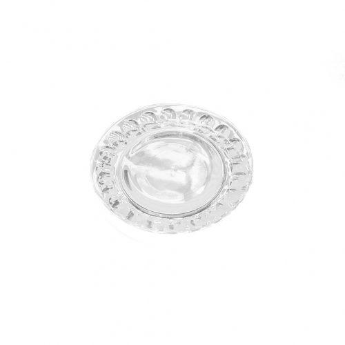 arcoroc Plate Glass Ware Made In France/アルコロック プレート ガラス フランス製 食器 レトロ スモールサイズ 4