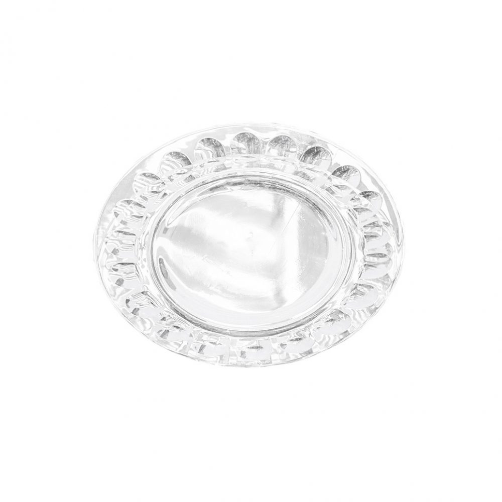 arcoroc Plate Glass Ware Made In France/アルコロック プレート ガラス フランス製 食器 レトロ ラージサイズ 4