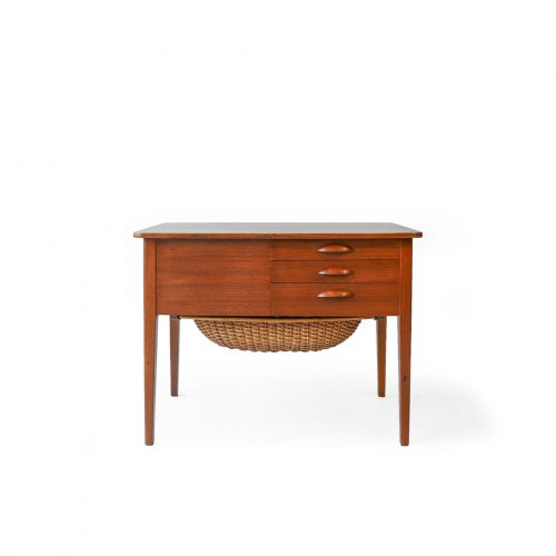 Danish Vintage Sewing Table/デンマーク ヴィンテージ ソーイングテーブル チーク材 北欧家具