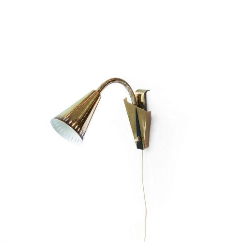 Swedish Vintage Asea Wall Lamp/スウェーデン ヴィンテージ アセア ウォールランプ 真鍮 照明 ミッドセンチュリー 北欧インテリア 2