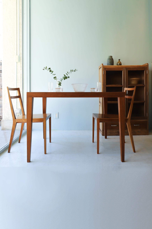 """TIME & STYLE Dining Table """"Nancy""""/タイム&スタイル ダイニングテーブル ナンシー ウォールナット"""
