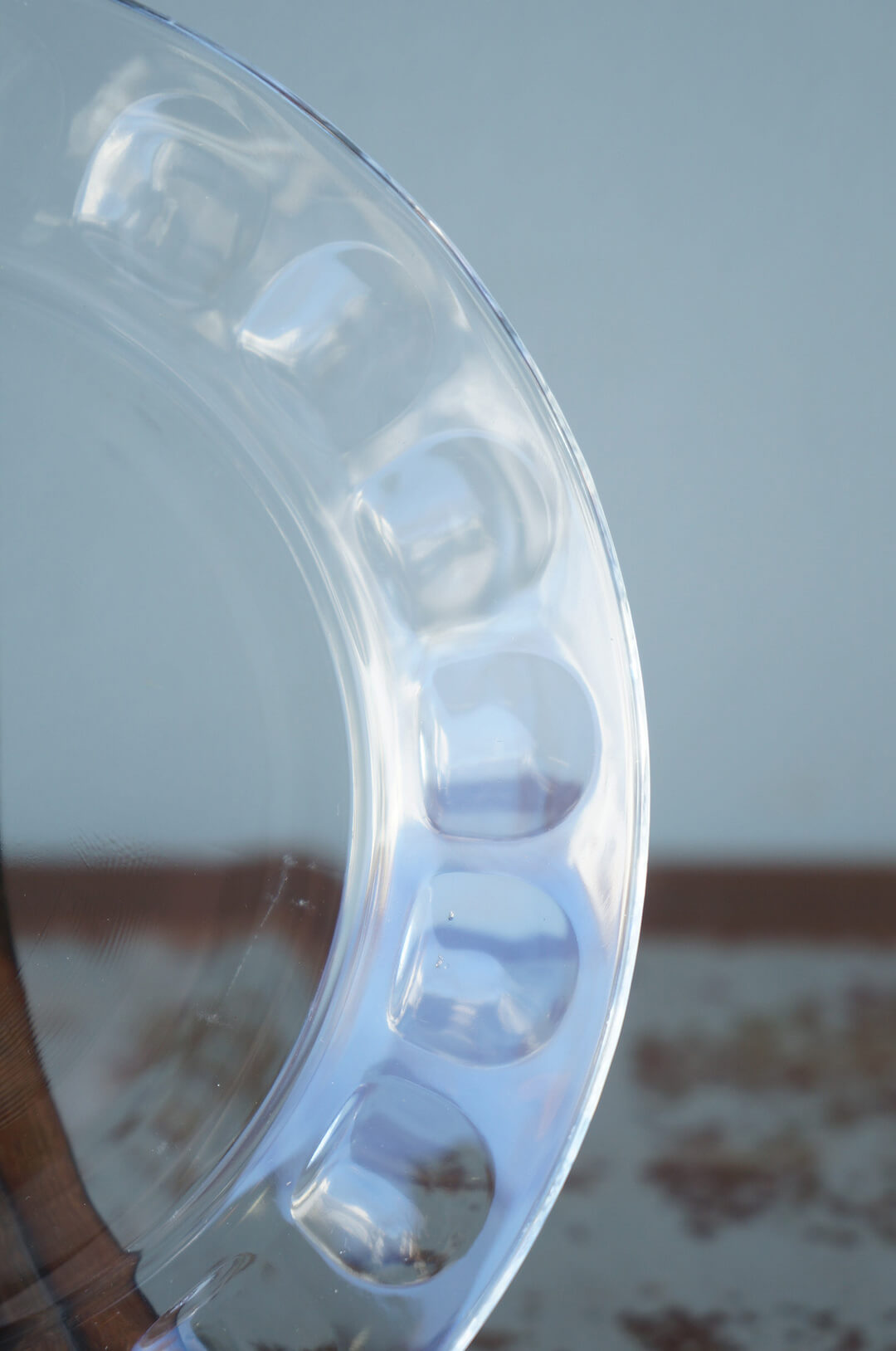 arcoroc Plate Glass Ware Made In France/アルコロック プレート ガラス フランス製 食器 レトロ スモールサイズ 1