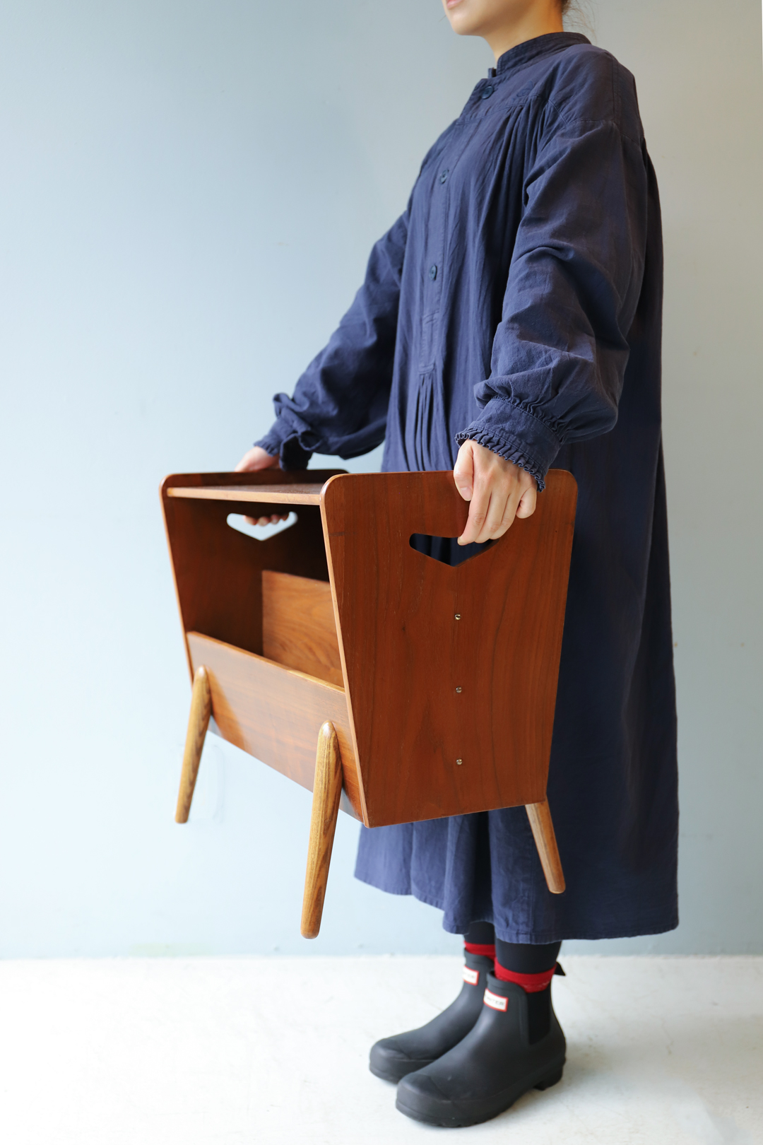 Vintage Magazine Rack Midcentury Design/ヴィンテージ マガジンラック サイドテーブル ミッドセンチュリー デザイン