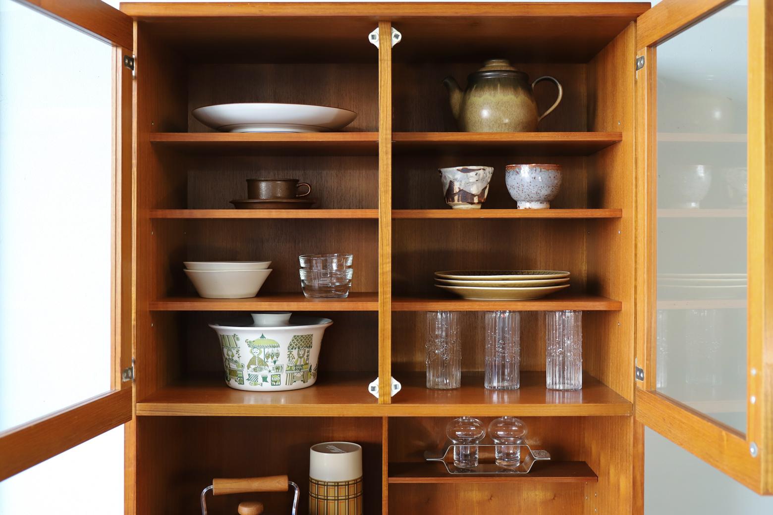 Japan Vintage Cupboard Teakwood/ジャパンヴィンテージ カップボード 食器棚 チーク材 収納家具