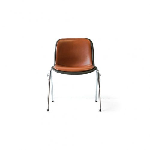 Kusch+Co. HOUTOKU Stacking Chair Jorgen Kastholm/クッシュ ホウトク スタッキングチェア ヨルゲン・カストホルム ミッドセンチュリー ヴィンテージ オレンジ 1