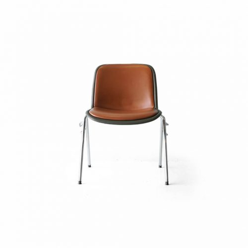 Kusch+Co. HOUTOKU Stacking Chair Jorgen Kastholm/クッシュ ホウトク スタッキングチェア ヨルゲン・カストホルム ミッドセンチュリー ヴィンテージ オレンジ 3