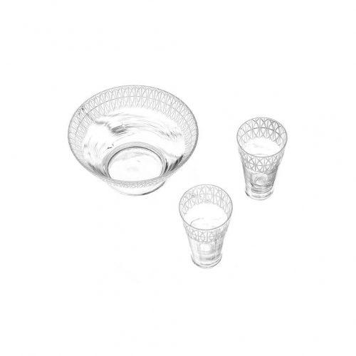 Sybilla Casa Glassware Glass Bowl Tableware/シビラ ガラス食器 グラス ボウル テーブルウェア インテリア