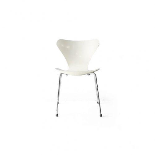 Fritz Hansen Series 7 Chair Arne Jacobsen/フリッツハンセン セブンチェア ホワイト アルネ・ヤコブセン 北欧ヴィンテージ 椅子 9