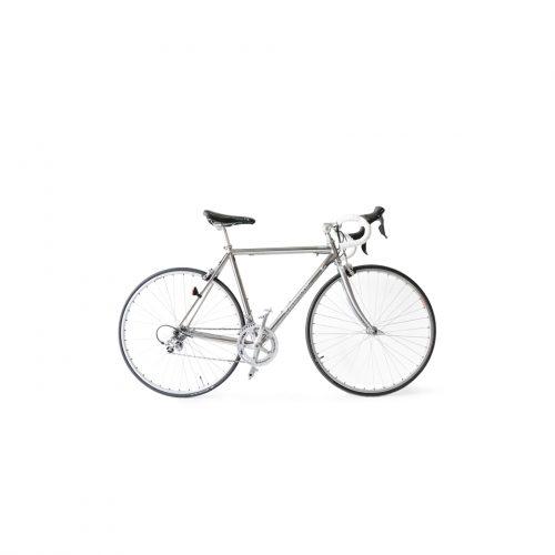 Panasonic Titanium flame Road bike 3AL2.5V/パナソニック チタンフレーム ロードバイク 自転車