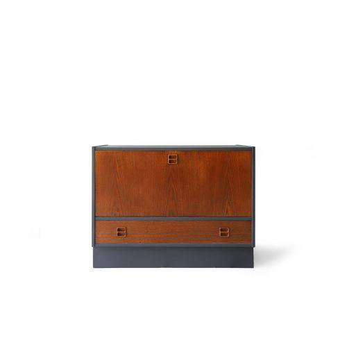 Danish Vintage Feldballes Møbelfabrik Audio Cabinet/デンマーク ヴィンテージ オーディオキャビネット 収納家具 北欧 オーク材