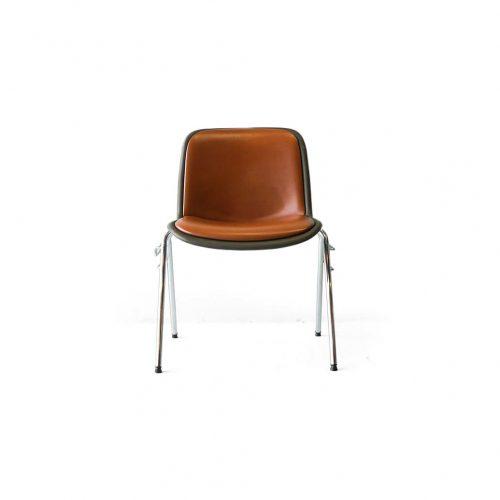 Kusch+Co. HOUTOKU Stacking Chair Jorgen Kastholm/クッシュ ホウトク スタッキングチェア ヨルゲン・カストホルム ミッドセンチュリー ヴィンテージ オレンジ 2