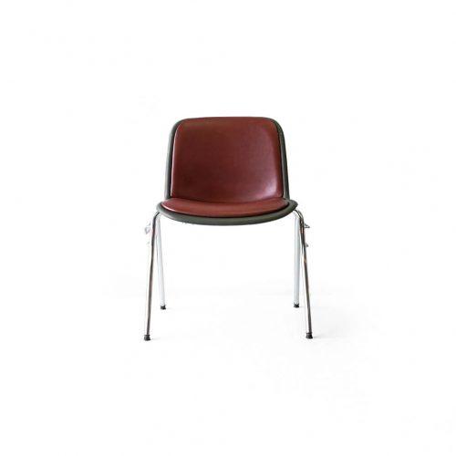 Kusch+Co. HOUTOKU Stacking Chair Jorgen Kastholm/クッシュ ホウトク スタッキングチェア ヨルゲン・カストホルム ミッドセンチュリー ヴィンテージ レッド 1