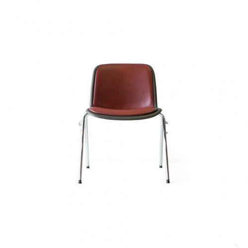 Kusch+Co. HOUTOKU Stacking Chair Jorgen Kastholm/クッシュ ホウトク スタッキングチェア ヨルゲン・カストホルム ミッドセンチュリー ヴィンテージ レッド 2