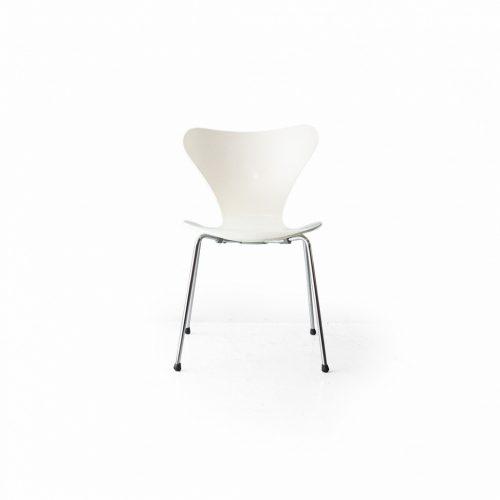 フリッツハンセン セブンチェア ホワイト アルネ・ヤコブセン 北欧ヴィンテージ 椅子/Fritz Hansen Series 7 Chair Arne Jacobsen 5