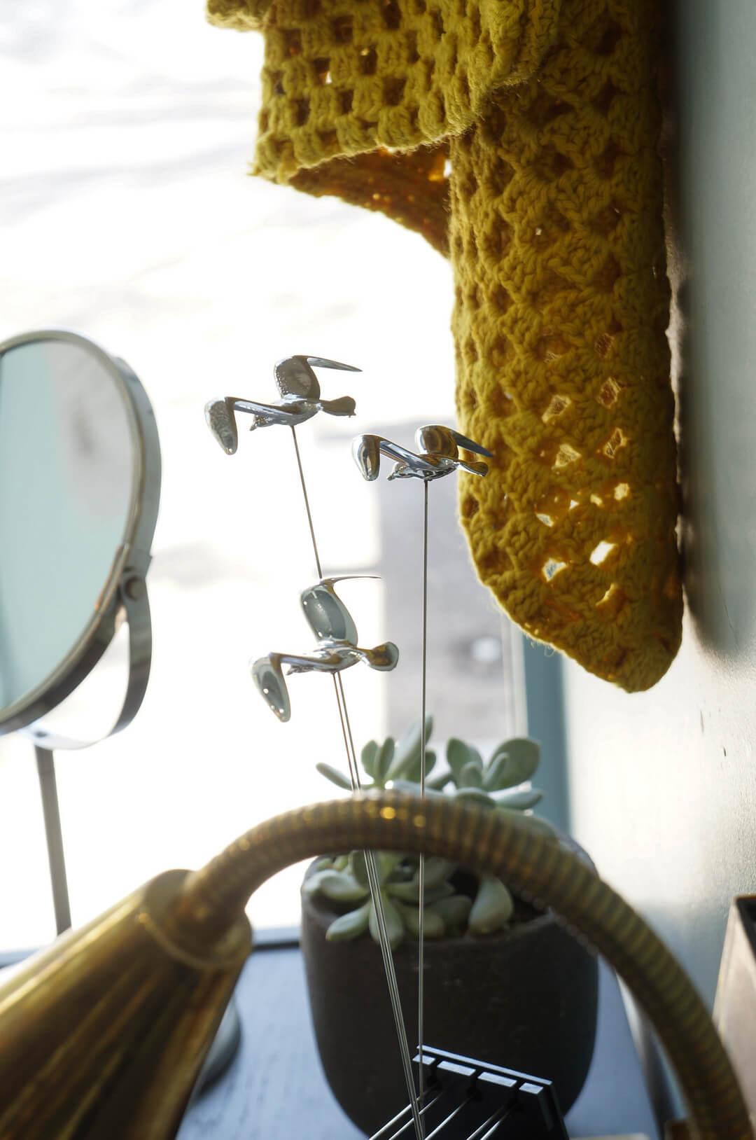 Vintage KINETIC ART Seagull Interior/ヴィンテージ キネティックアート カモメ シーガル イシグロ オタギリ インテリア