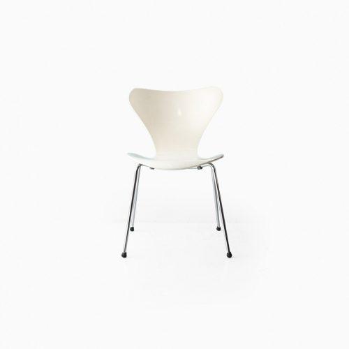 Fritz Hansen Series 7 Chair Arne Jacobsen/フリッツハンセン セブンチェア ホワイト アルネ・ヤコブセン 北欧ヴィンテージ 椅子 6