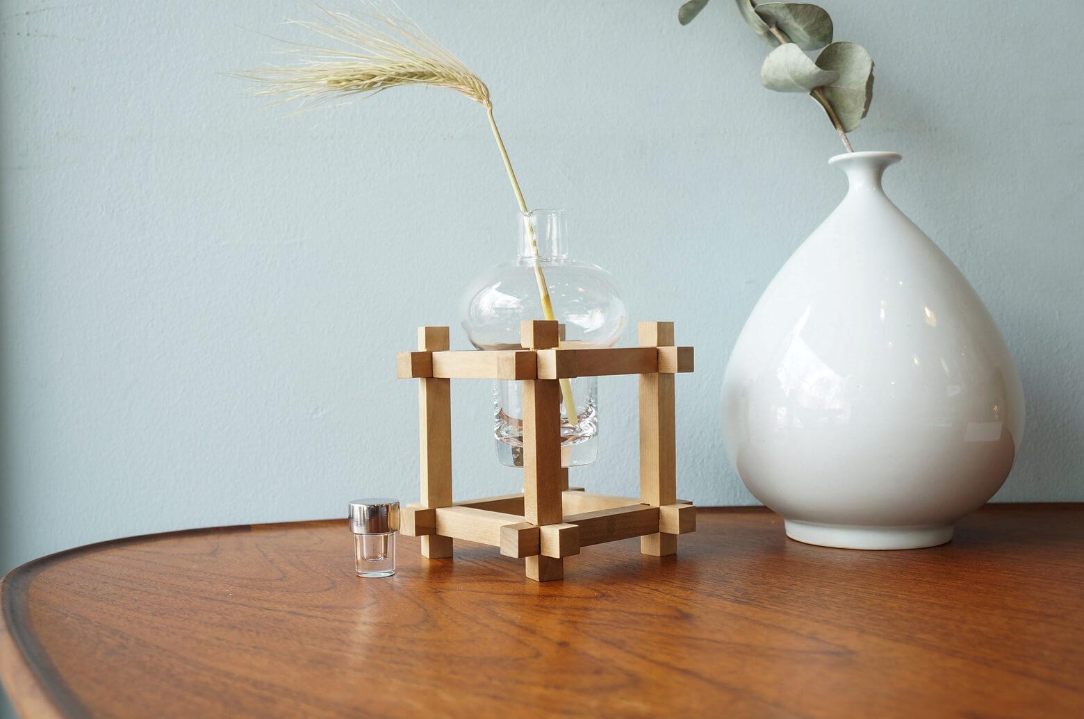 Yamanaka Kumiki Works Wooden Puzzle/山中組木工房 玉入れ組木 マス組木 山中成夫 柳宗理 伝統工芸品